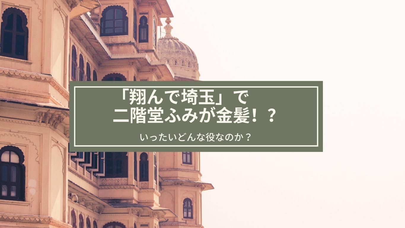 翔んで埼玉,二階堂ふみ,金髪,男役,地上波