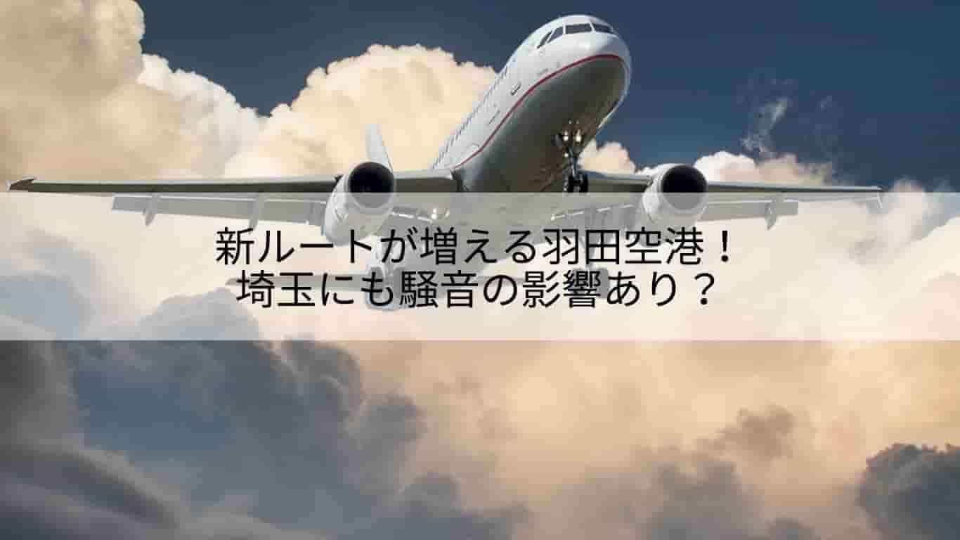 新ルート,羽田空港,埼玉,影響