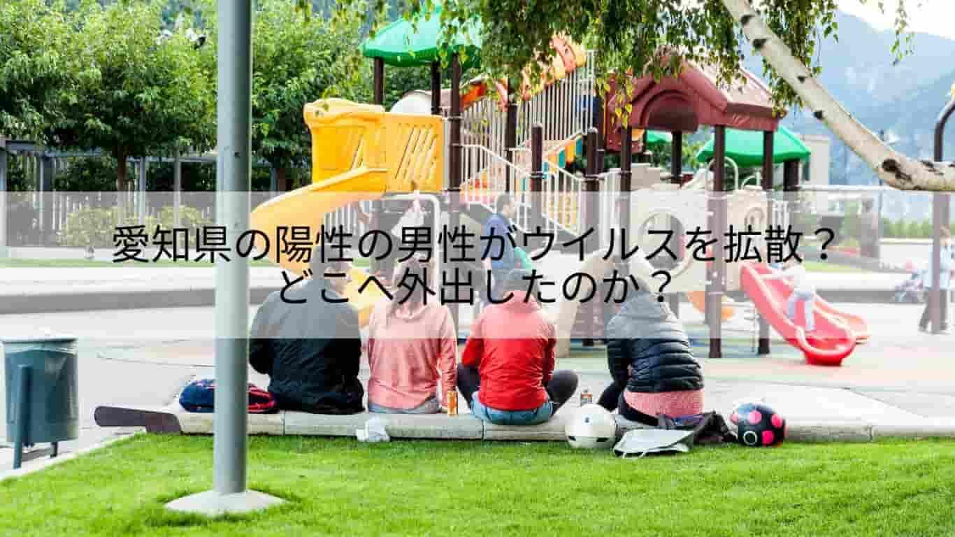愛知県,男性,陽性,拡散,外出