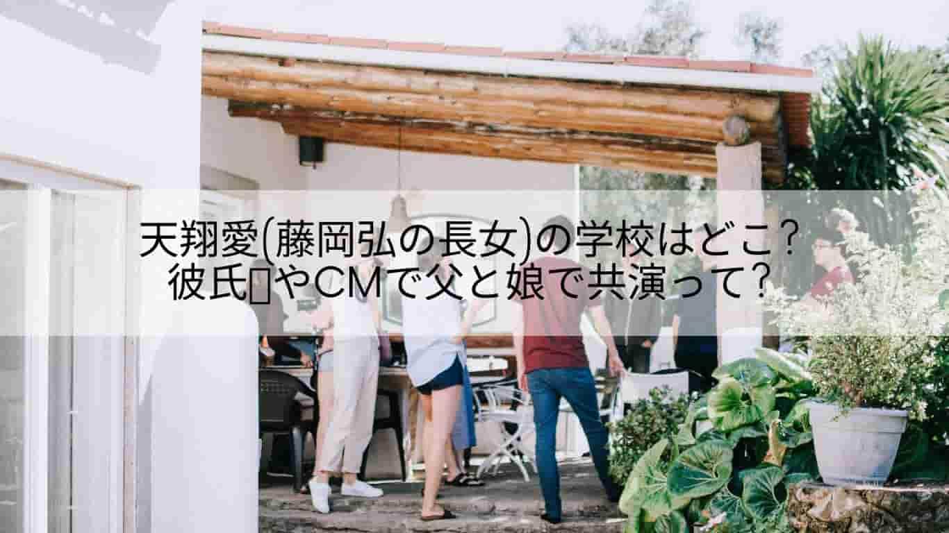藤岡弘,天翔愛,CM,学校